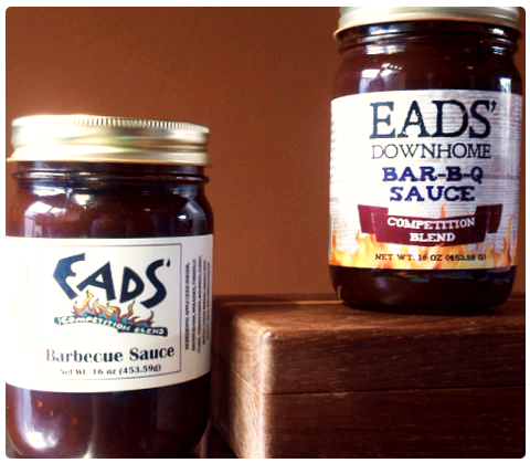 EADS' Barbecue Sauce Label -- Competition Blend