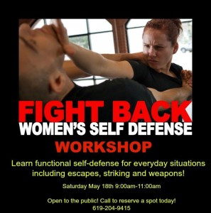 Self defense workshop for women in lincoln ca