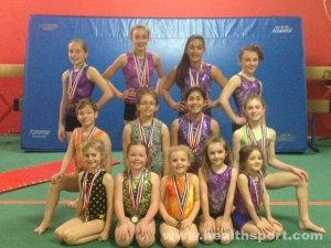 HealthSPORT Fortuna Gymnastics team 2014