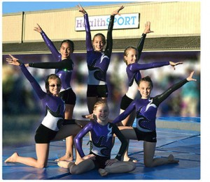 Fortuna CA Gymnasts from the HealthSPORT team