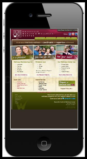 Roseville Health & Wellness Mobile Demo