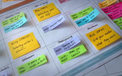 1 Minute Marketing: Content Calendar
